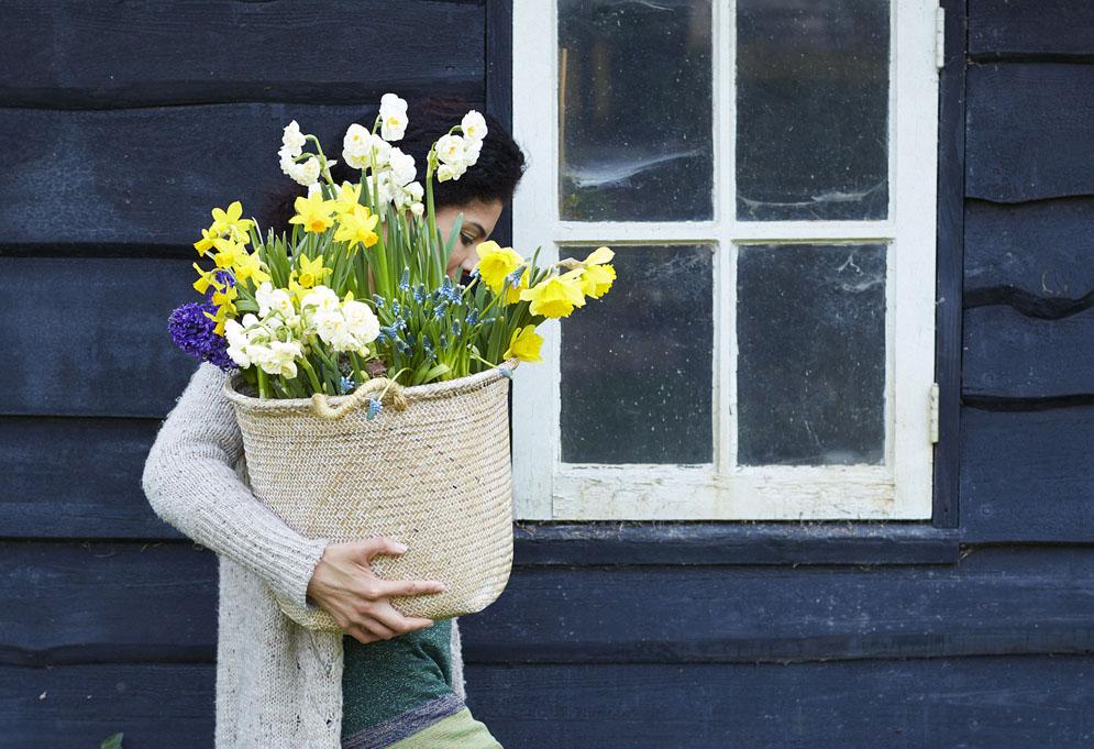 vrouw-mand-herplanten-voorjaarsbollen-tuinblog