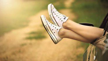 Vakantie: voetjes omhoog!
