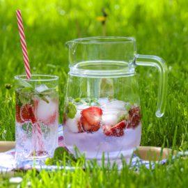 aardbeien-drankje