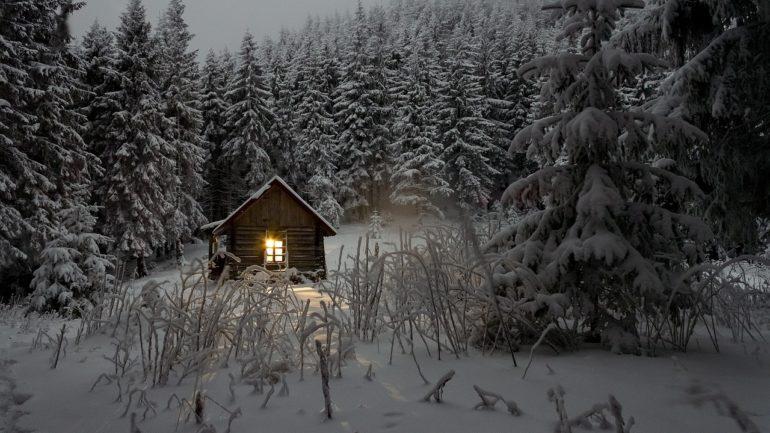 Winters genieten in je eigen blokhut