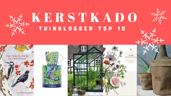 Kerstkado TOP 10 – Tuinblogger