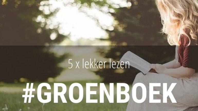 5 keer een groen boek